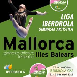 3ª FASE LIGA IBERDROLA GIMNASIA RÍTMICA EN MALLORCA.